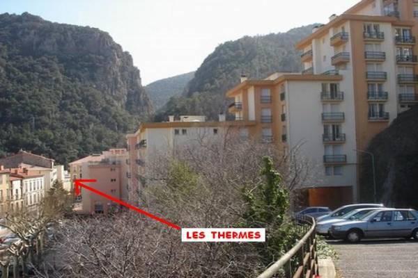 Photo Amélie-les-bains, T2 TRÈS PROCHE DES THERMES CLASSÉ 2**