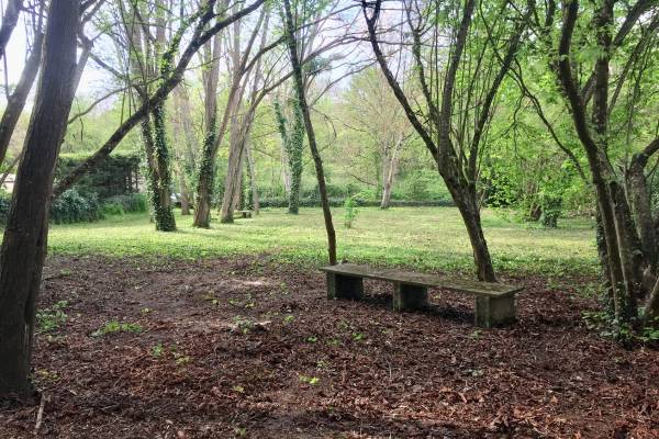 Photo Grand studio avec jardin à 20 mètres des thermes St ROCH