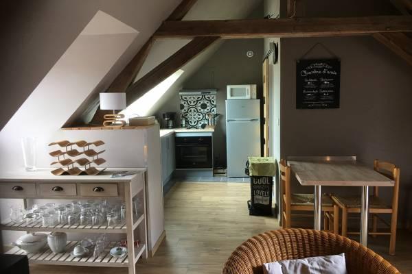 Photo Appartement situé à 700 mètres des Thermes de St Amand les Eaux pour 2 personnes