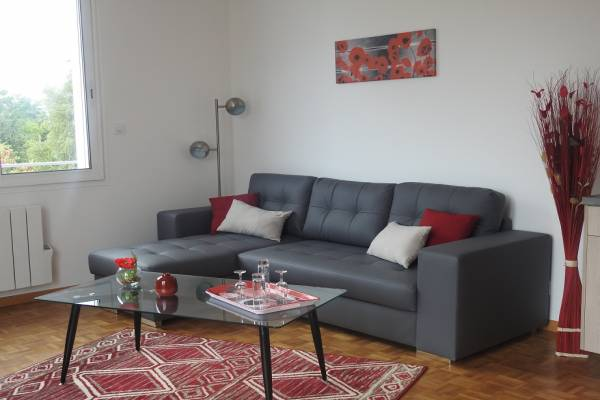 Photo Appartement 48 m² dans une petite résidence à proximité des thermes de Jonzac - CO