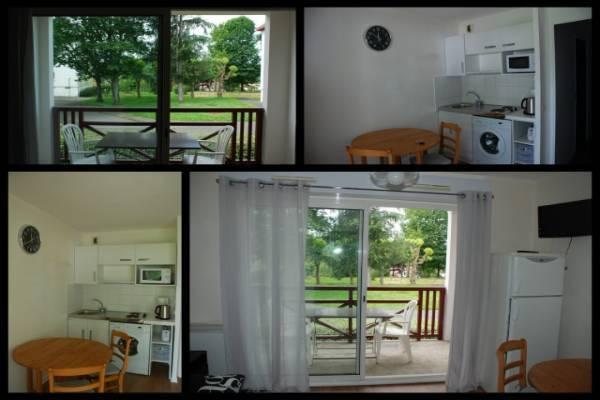 Photo studio meublé 2* dans le bas Cambo avec parking et terrasse