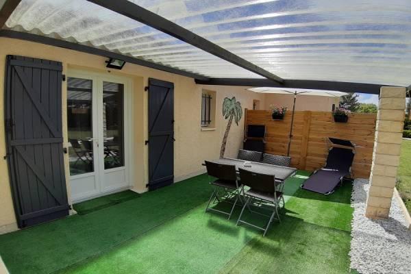 Photo Appartement avec 2 chambres avec terrasses à 1 km des thermes de Jonzac