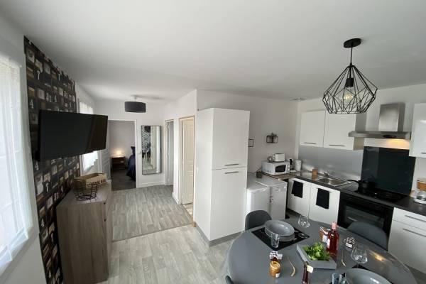 Photo appartement neuf au 1er étage à 2 km des thermes de Jonzac classé 3*