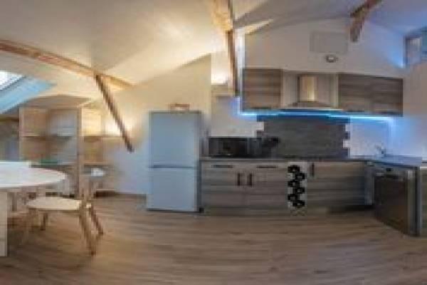 Photo Appartement de caractère neuf - T3 - 4 pers - 60m2 - Navette Thermes de Digne les Bains au pied