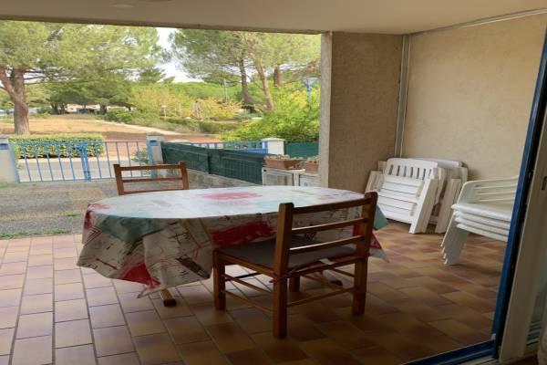 Photo Appartement de 2 pièces avec terrasse à Balaruc les Bains
