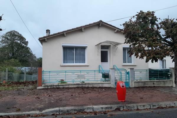 Photo Appartement accolé à une maison à Jonzac