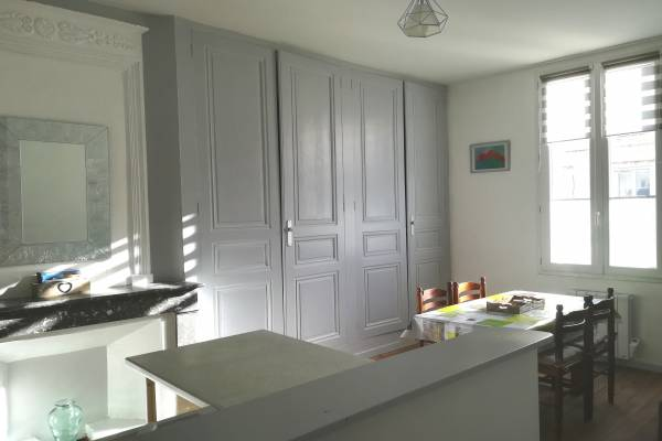 Photo Appartement avec 2 chambres à 450 mètres des Thermes de Rochefort pour 4 personnes