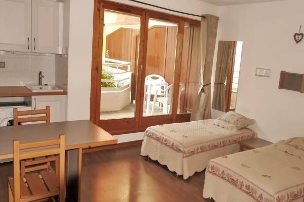 Photo studio confortable 2* - résidence le grand chalet - face aux thermes