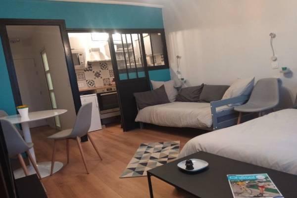 Photo Studio meublé à 500 mètres des thermes de Châtel-Guyon