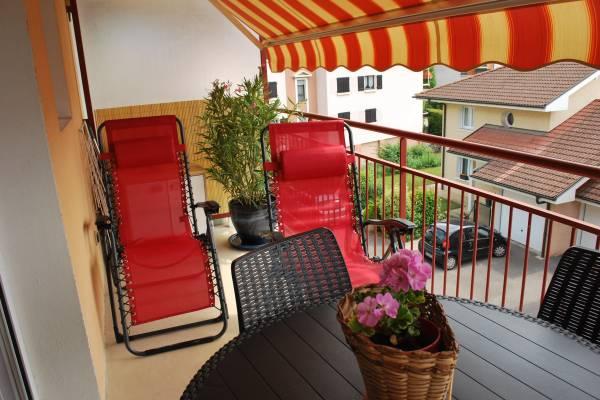 Photo Studio à Thonon les Bains avec balcon et parking privé