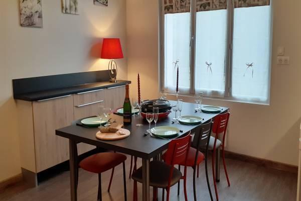 Photo Appartement avec 2 chambres avec parking au rez-de-chaussée à 400m des thermes du Mont Dore