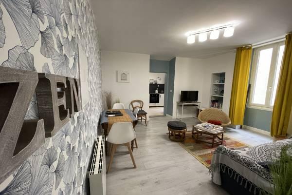 Photo Aix-Les-Bains appartement 40m2, jardin privé, rue calme, 2min. du centre ville