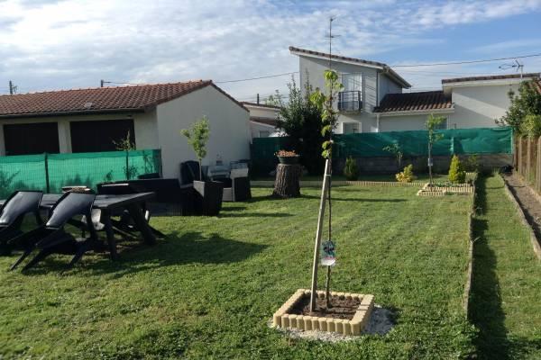 Photo Gite avec 2 chambres et jardin pour les curistes de Dax