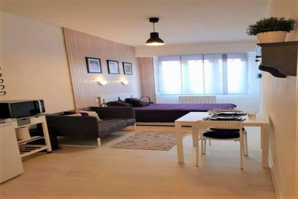 Photo Studio meublé 2 étoiles à 450 mètres des thermes de Bourbonne-les-Bains