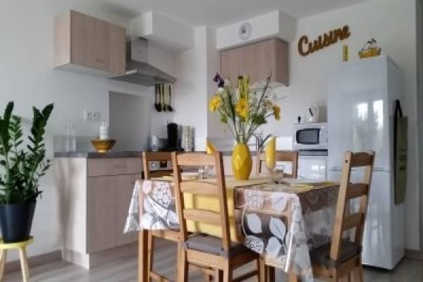 Photo Appartement dans une petite résidence proche des thermes de Jonzac - BOU -